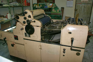 perawatan mesin cetak hamada
