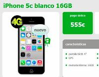 iphone 5c amena precios caracteristicas