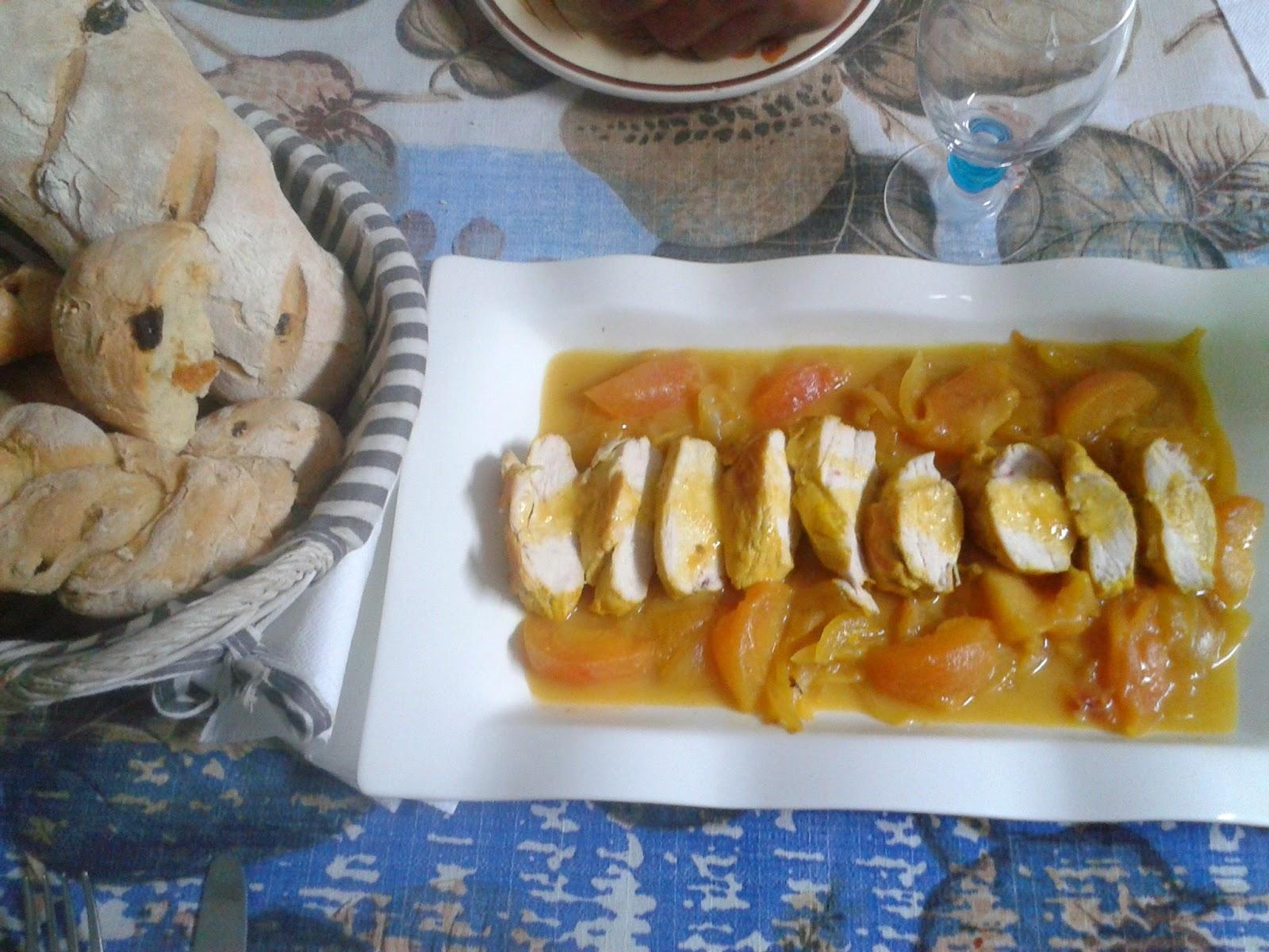 Pechugas de pollo en salsa con ciruelas - Salsas para pechuga de pollo ...
