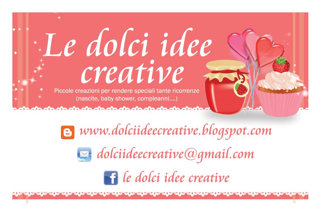 Le dolci idee creative