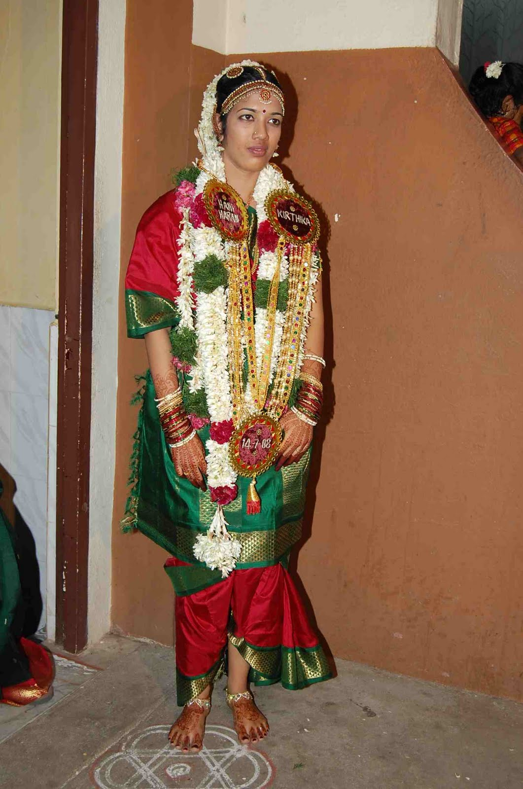 Ladies hair style tamil