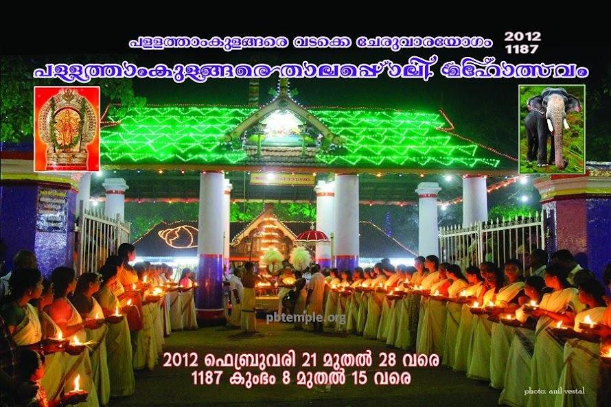 Pallathamkulangara Thalappoli 2012 February 21 to 28