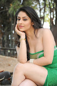 Ankita Sharma Hot photo shoto in Green-thumbnail-17