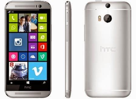 HTC One M8 versi Windows Phone resmi diperkenalkan