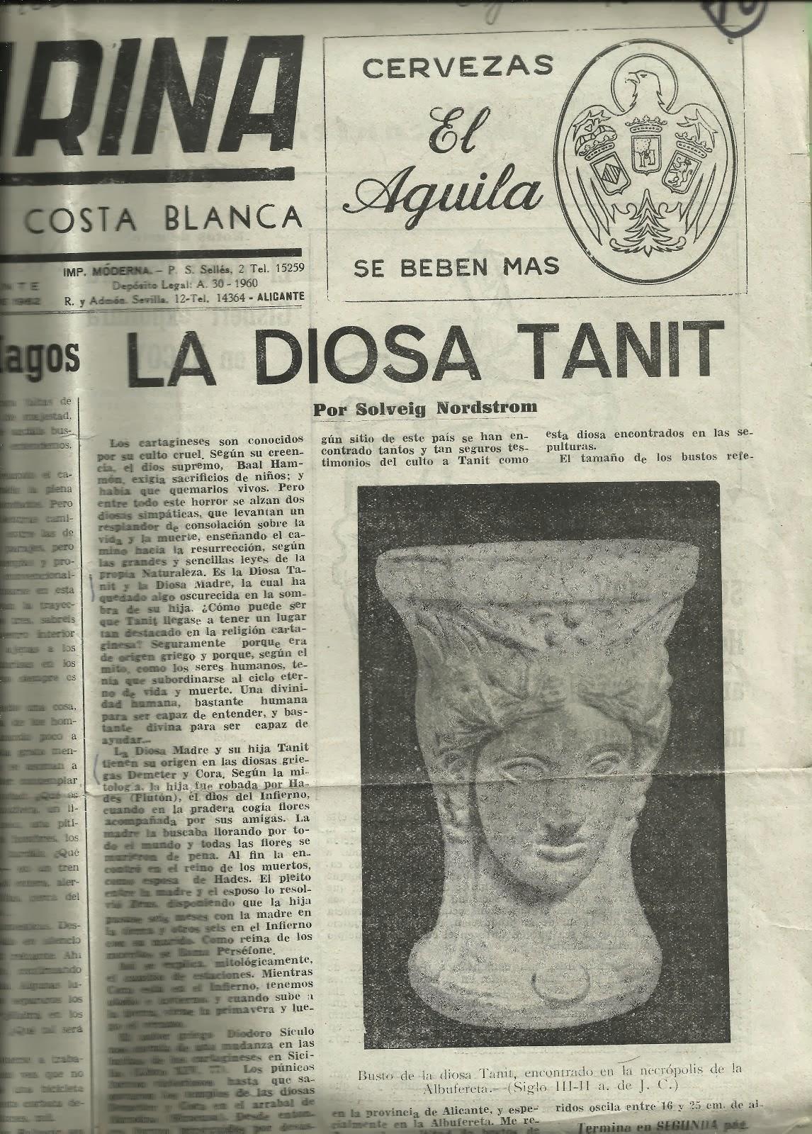 La diosa Tanit