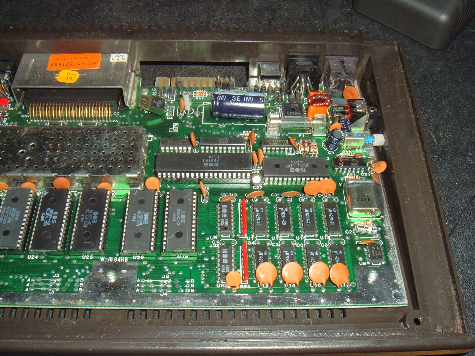 Tynemouth Software Commodore Plus 4 Usb Keyboard Circuit Board Images Main