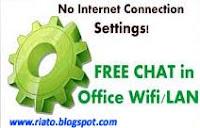 Chatting dalam jaringan LAN