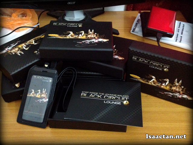 Exclusive invites to Johnnie Walker Black Circuit Lounge 2012