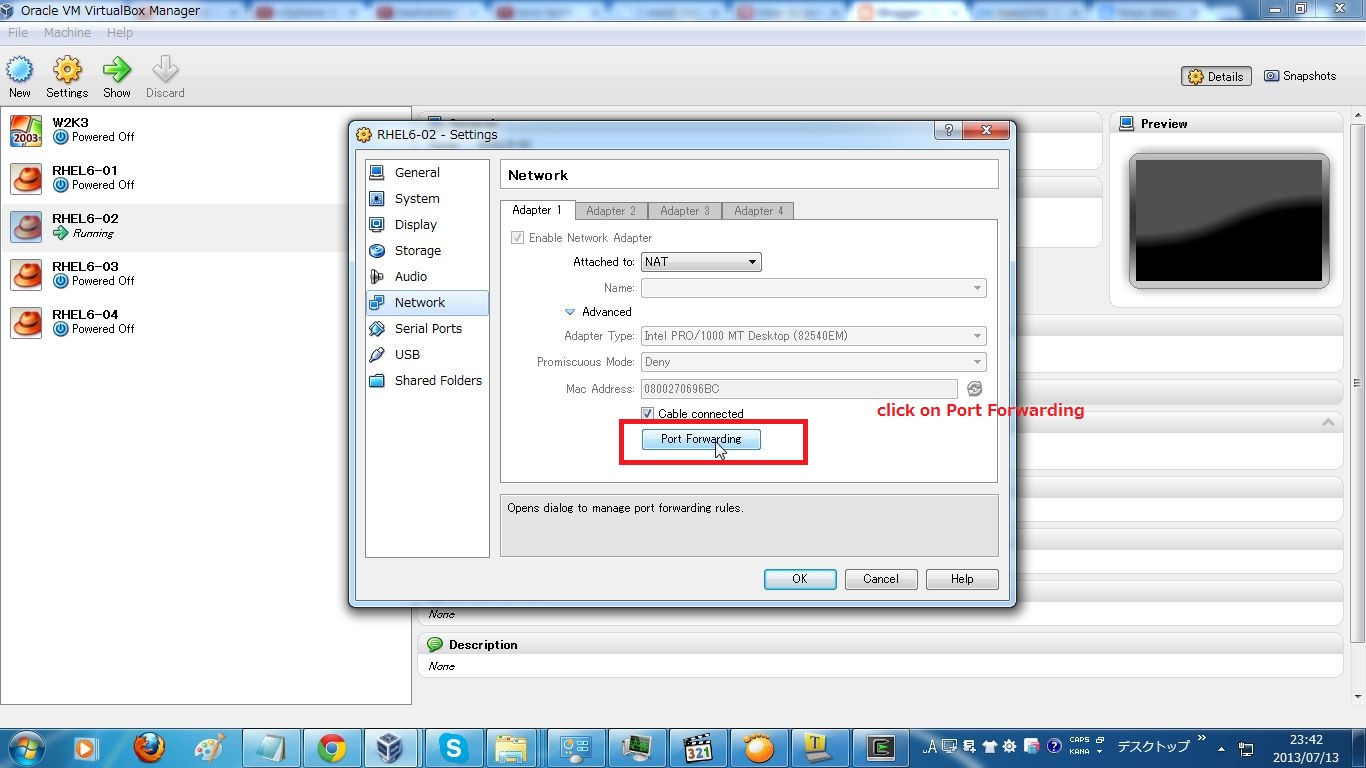 how to find the host of the vm