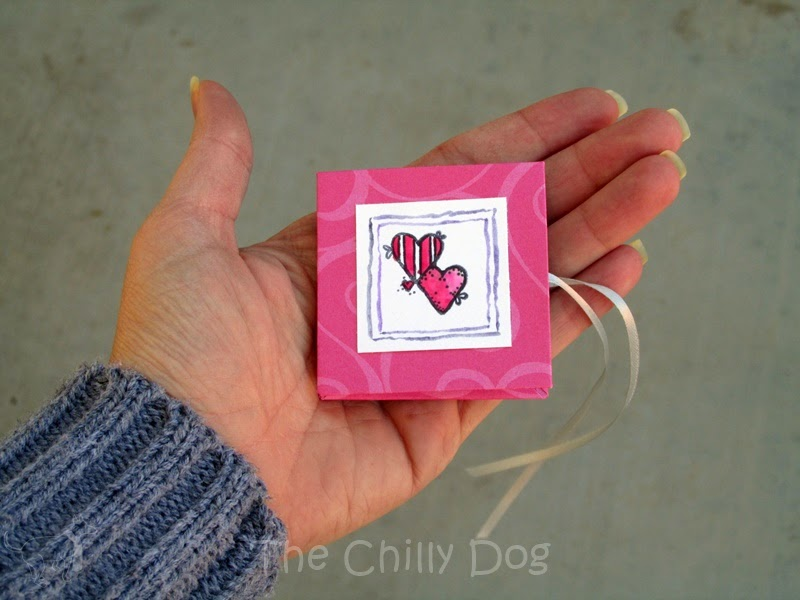 "Make your Valentine an extra special mini book to tell them ""forever and always my heart belongs to you"""