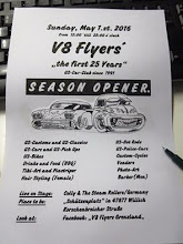SEASON OPENER 2016 der V8 Flyers
