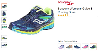 Skarner Guide AND Saucony Women's Guide 8 Running Shoe