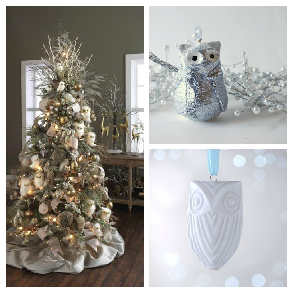 Forest Christmas Decor Collage