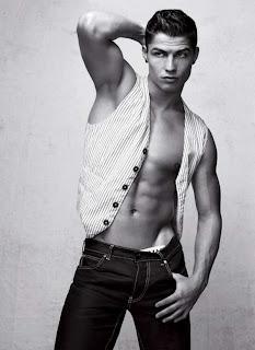 Cristiano Ronaldo In Black And White Pictures
