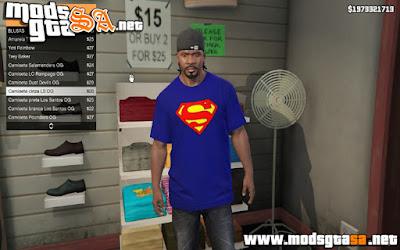 V - Pack de Camisas Geeks para GTA V PC