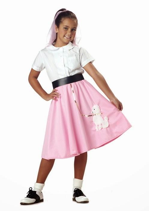 Ideas para un disfraz de rock and roll para niña | Trato o truco