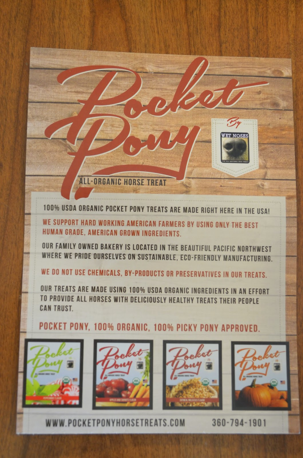 pocket pony organic horse treats