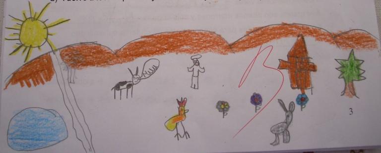 así es como mis alumnos han interpretado esta poesía de la gran