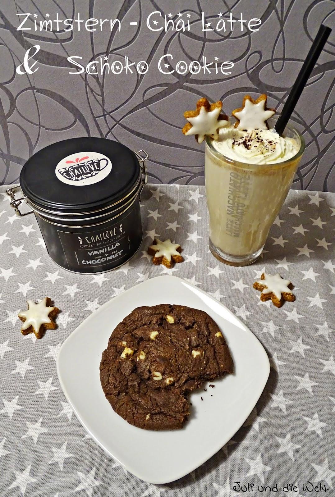 juli s welt beginn der adventszeit zimtstern chai latte schoko cookie. Black Bedroom Furniture Sets. Home Design Ideas