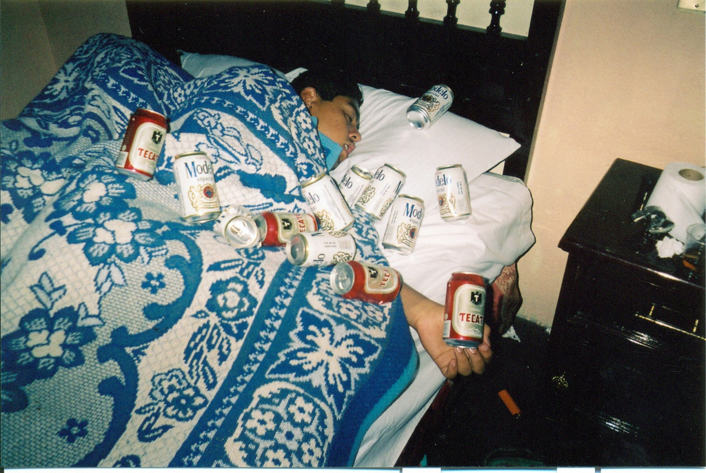 alojamiento sin niños borracho