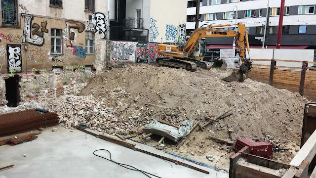 Baustelle Torstraße 46 / Alte Schönhauser Straße, 10119 Berlin, 22.Juni 2014