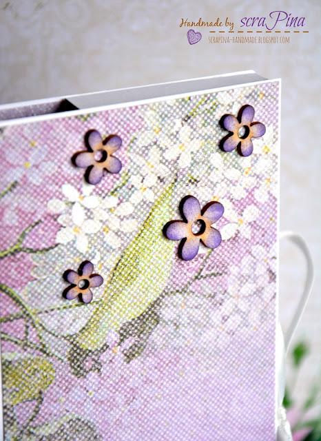 słodkie podziękowanie kartka z czekoladą czekoladowniki ręcznie robione scrapina handmade papiery galeria papieru tekturki i kropka dla Ciebie dziękuję