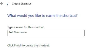 Cara Full Shutdown Windows