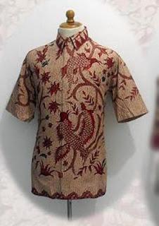 baju batik pria 2012