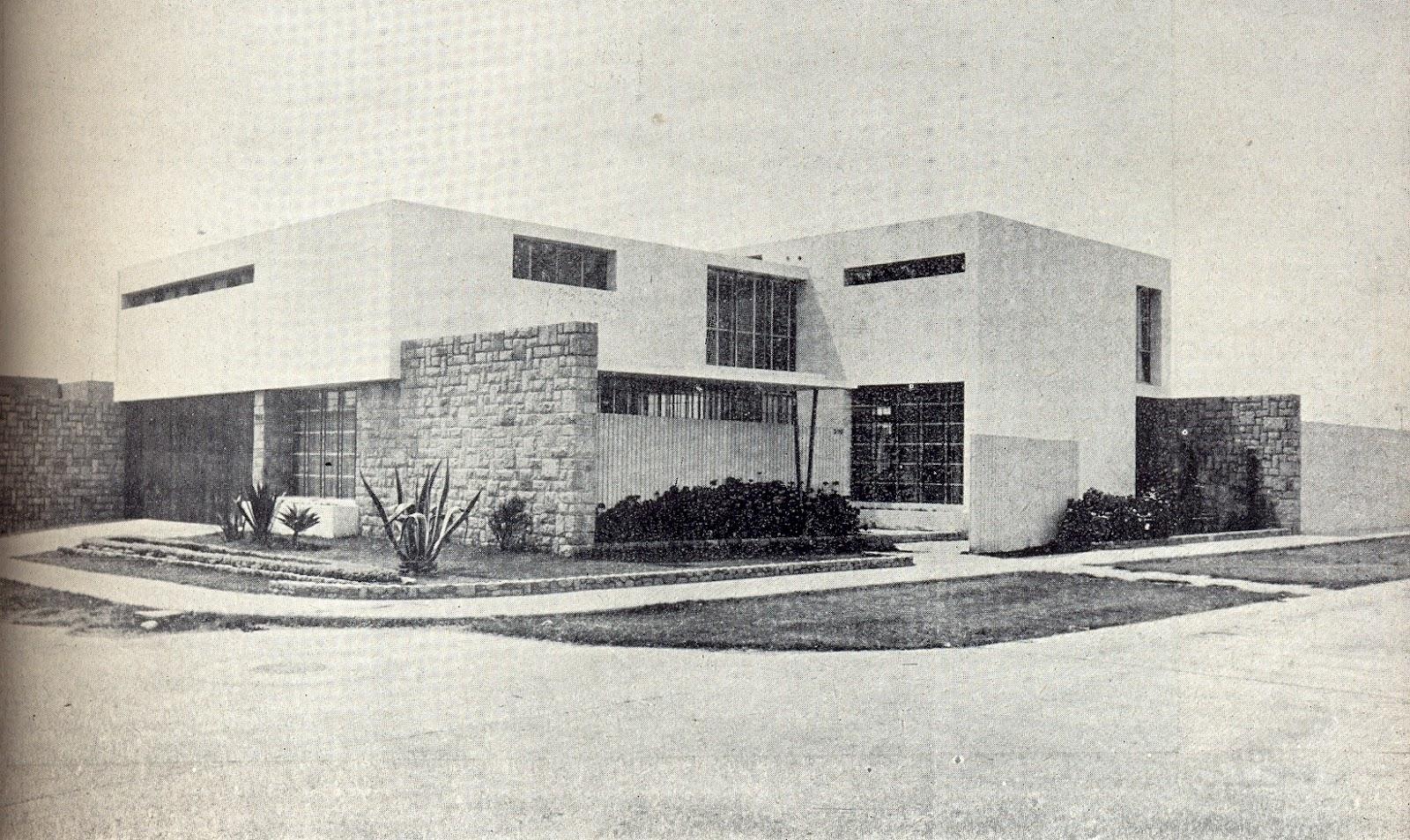 La forma moderna en latinoam rica arquitectura moderna en for Departamentos arquitectura moderna