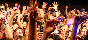 Screaming audience at Columbia Halle, Berlin (Germany) April 4, 2007. Flikr Photo Credit svenwerk