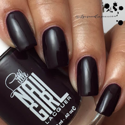Swatch and review of Harley nail polish by Little Nail Gail Lacquer
