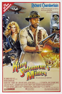 Poster for King Solomon's Mines (1985)