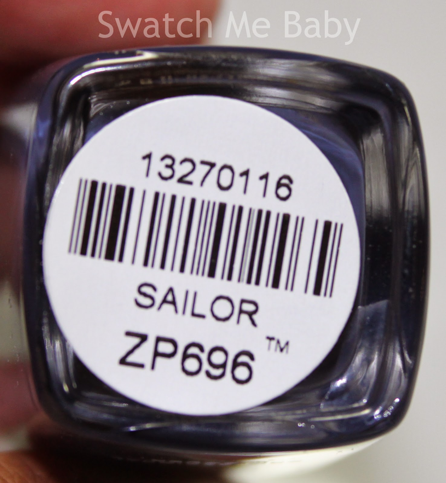 Zoya Nail Polish in Sailor Bottom Label