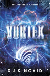 Book cover for Vortex by SJ Kincaid