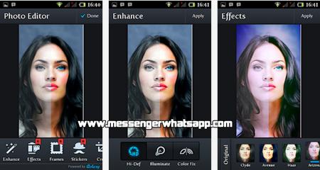 Edita y retoca tus fotos con WhatsApp Camera