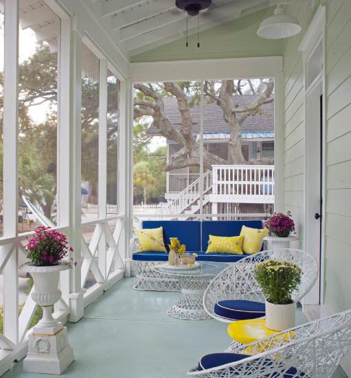 Украсить летний домик на даче своими руками
