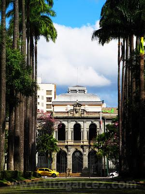 Palácio da Liberdade e Praça da Liberdade, em Belo Horizonte - Minas Gerais
