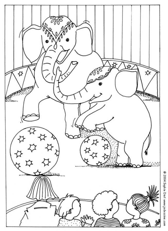 transmissionpress Circus Elephant