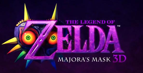 The Legend of Zelda: Majora's Mask 3D for Nintendo 3DS logo
