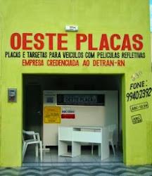 AGORA EM PATU - OESTE PLACAS - EMPRESA CREDENCIADA AO DETRAN/RN