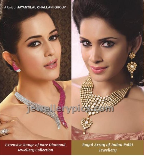 challani jewellers ad models