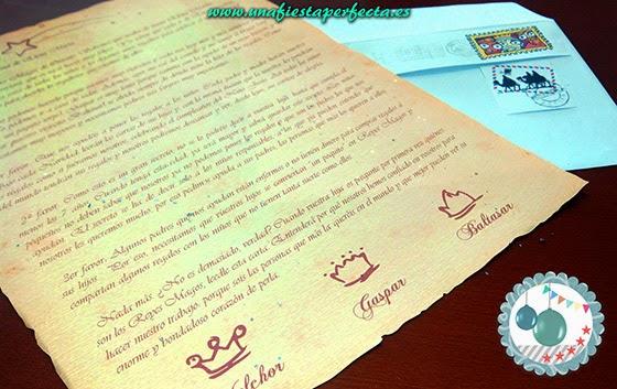 Carta DE los Reyes Magos 02
