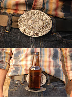 Bev Buckle | Beer Belt Buckle