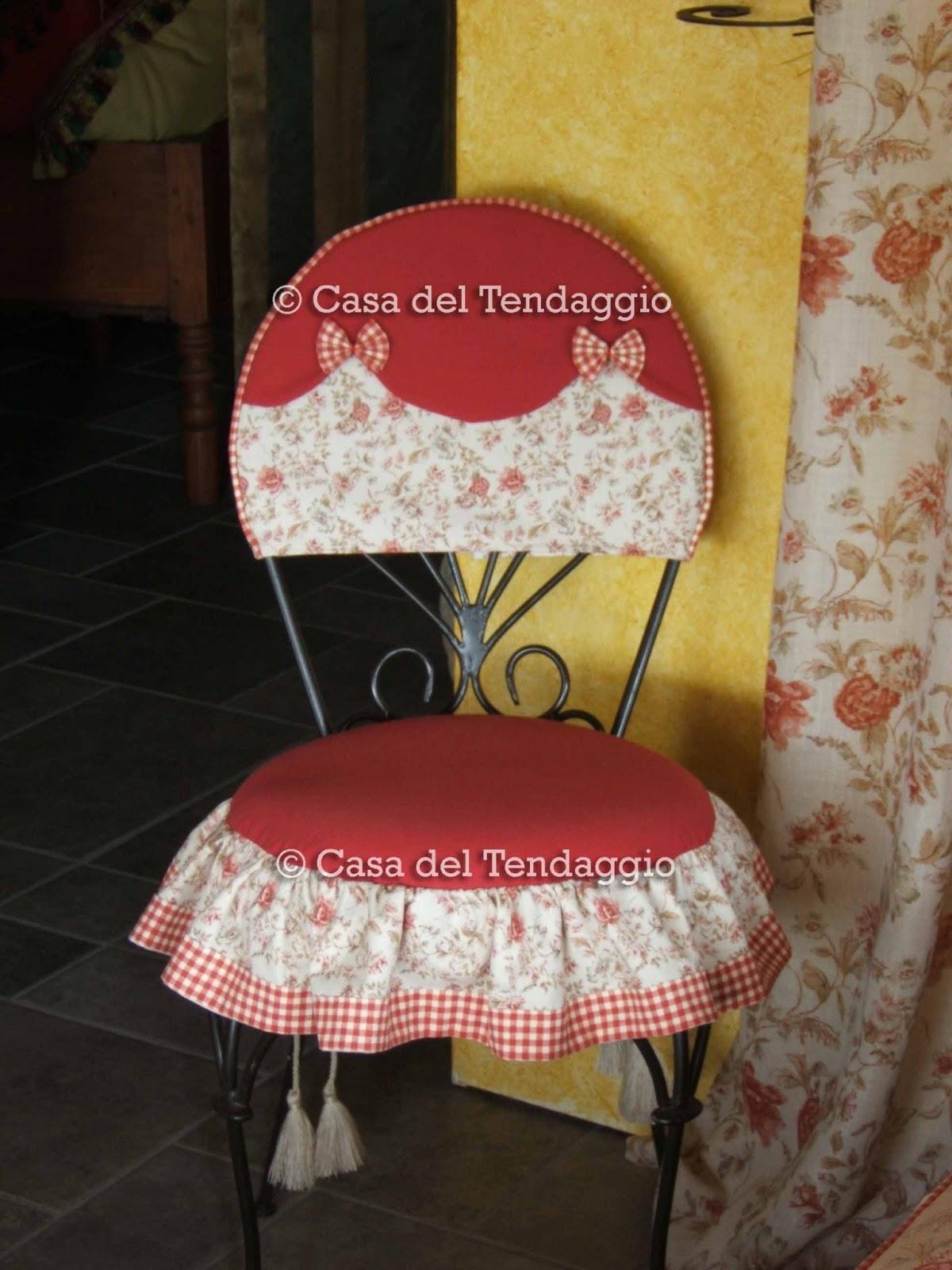 Tendenzialmente country cuscini country per sedia - Coordinati cucina country ...