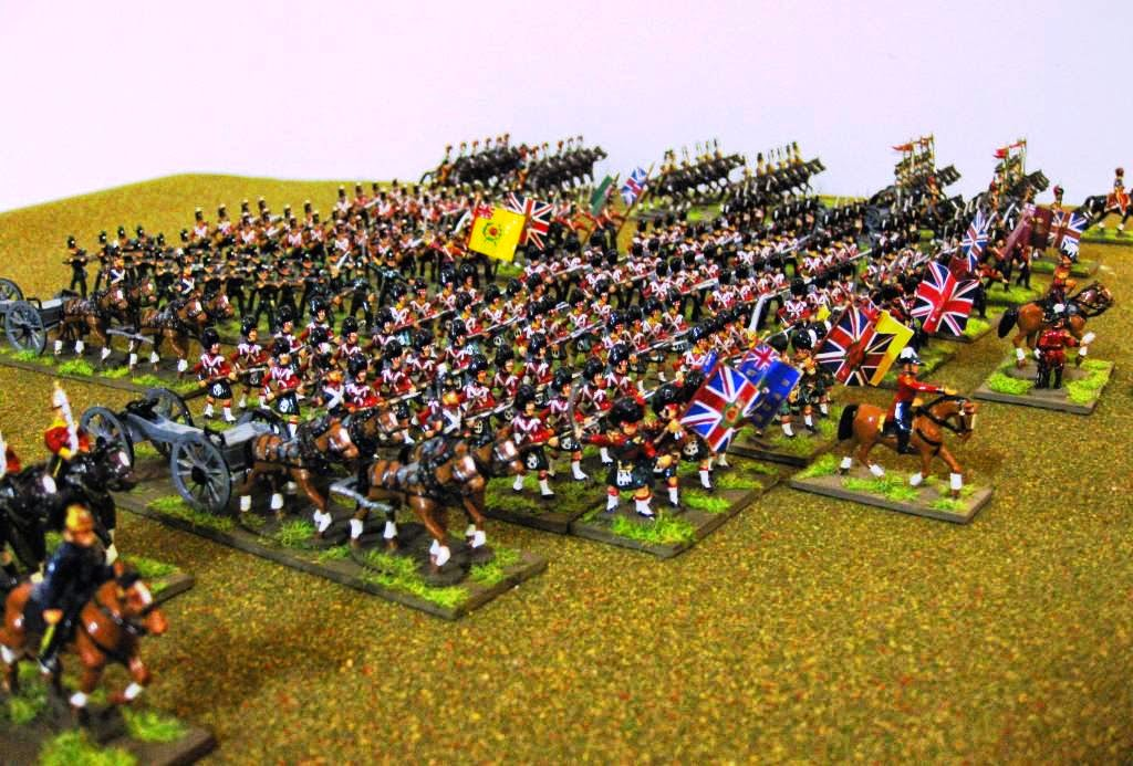 The British Army on the move