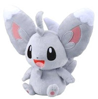 Pokemon Talkie Plush Minccino Tomy