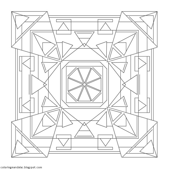 Coloring Mandalas 26 Turning Point