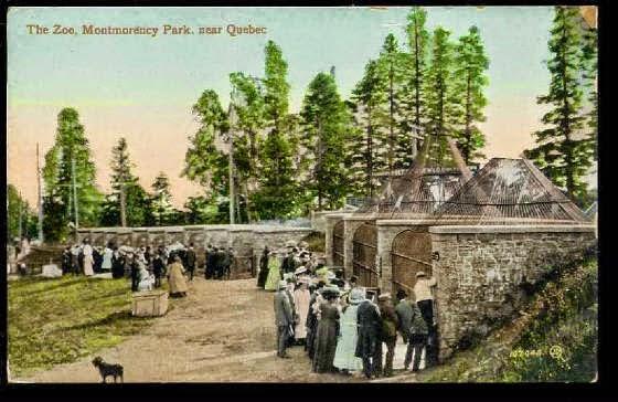 La bo te photos l ancien jardin zoologique de qu bec for Jardin zoologique