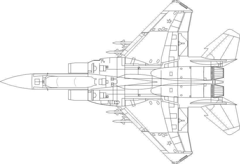 Imágenes para colorear caza y bombardero - Foto Montajes ...