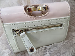 John Lewis, Ted Baker, Leather, Pink, Mint, Green, Patent, Purse, Pretty, Review, Cute